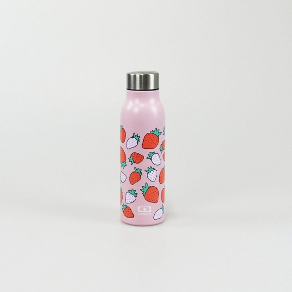 Insulated smart bottle rosa strawberry