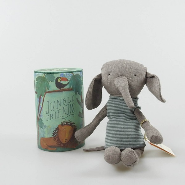 Elefant, Jungle friends